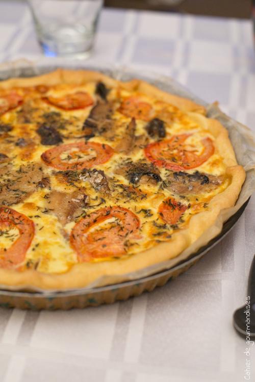 Quiche Tomates Sardines