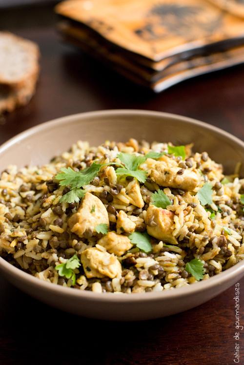 Riz Lentilles Indienne