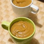 Soupe courge marrons