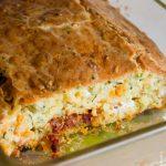 Cake mozzarella et chorizo