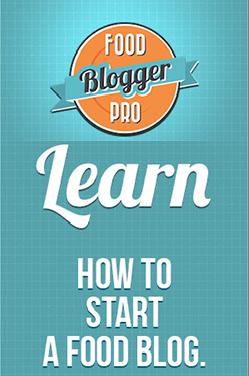 Si vous avez toujours rêvé de faire votre blog de recettes…