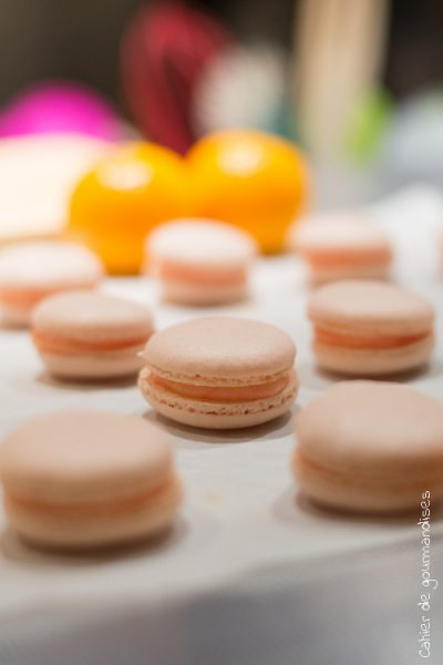 Macarons aux clémentines