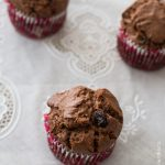 Muffins du goûter cranberries & cacao