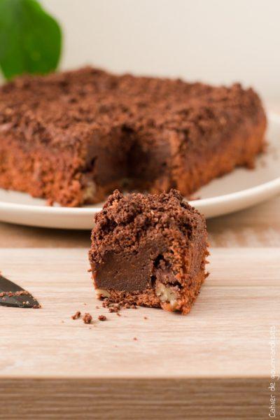 Streusel brownies