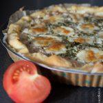 Tarte thon tomate & mozzarella