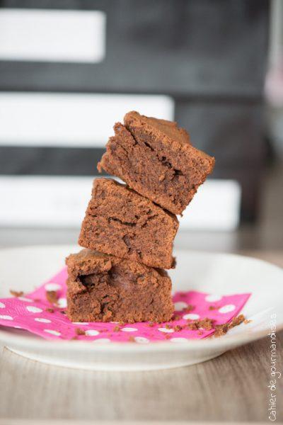 Brownie chocolat crème de marrons