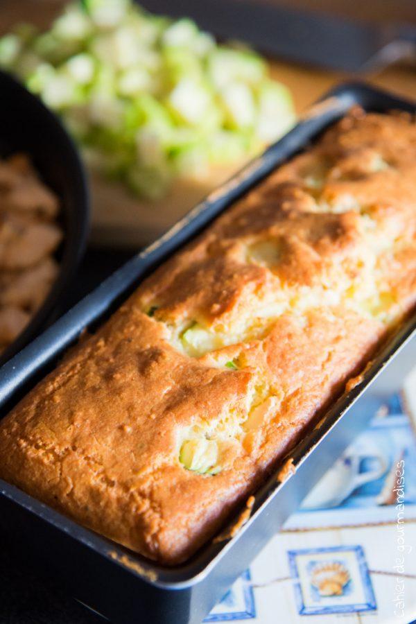 Cake Poulet Amandes & Courgettes