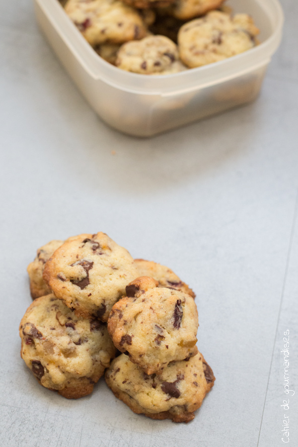 Cookies aux fruits secs | Cahier de gourmandises