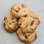 Cookies au chocolat et fruits secs, cranberries et oranges confites