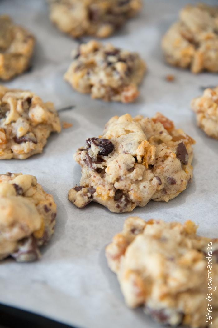 Crispy Cookies | Cahier de gourmandises