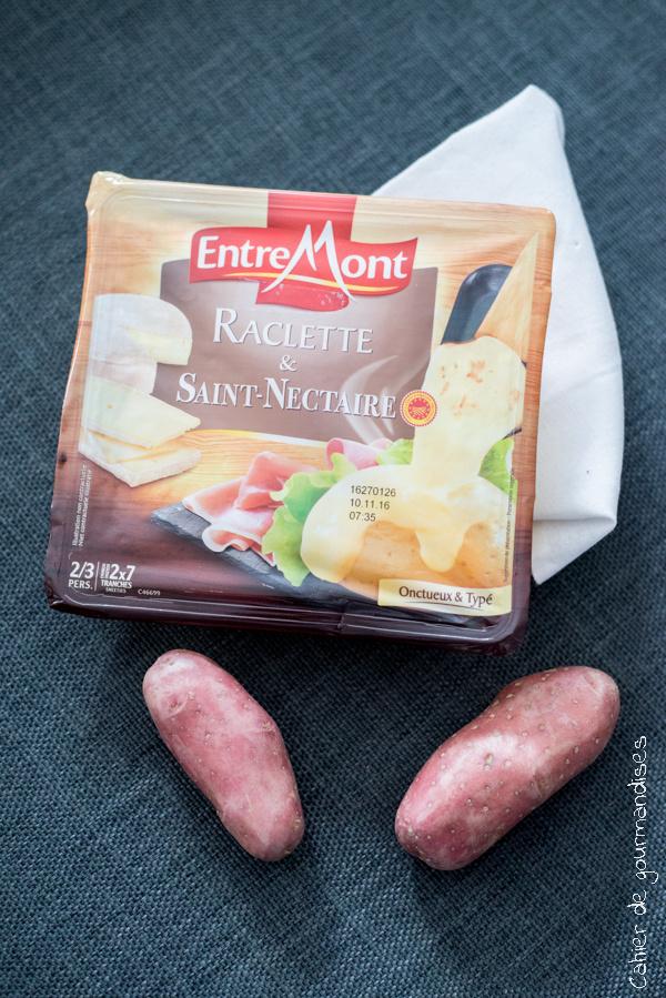 Entremont Raclette | Cahier de gourmandises