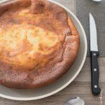 Gâteau léger amande et fromage blanc