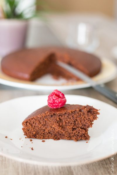 Gateau cacao framboises | Cahier de gourmandises