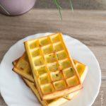 Gaufres Mozzarella Poulet | Cahier de gourmandises