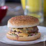 Hamburger sauce végétale à l'avocat