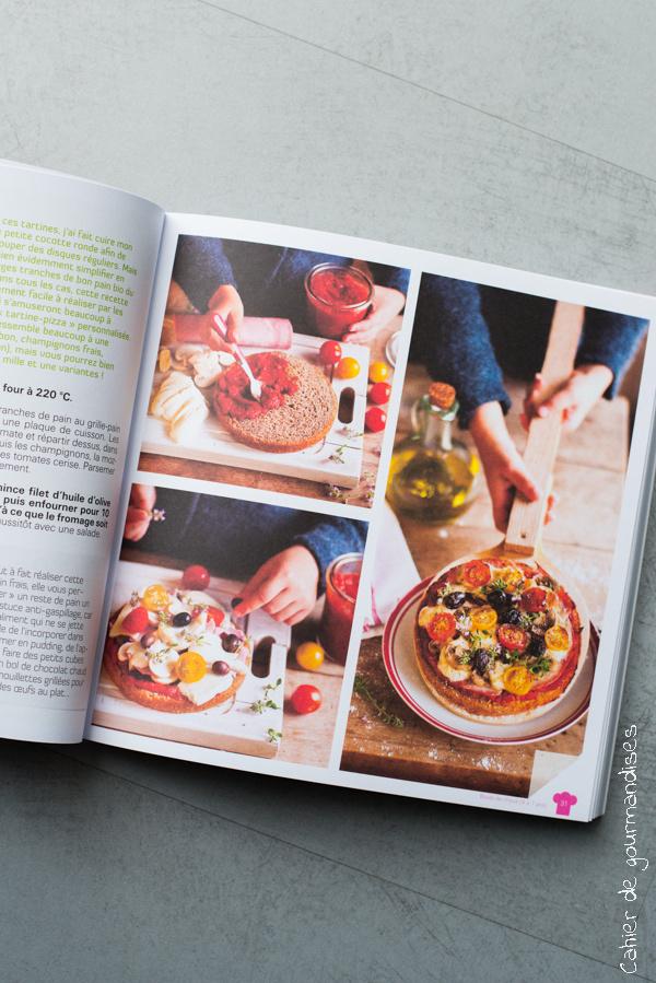 Je cuisine Bio enfants Chiocca | Cahier de gourmandises