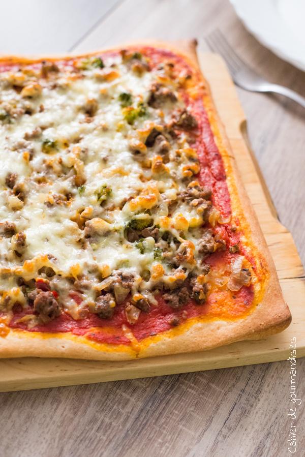 Pizza Bolognaise | Cahier de gourmandises
