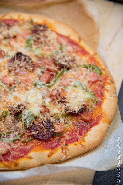 Pizza Chorizo poivron