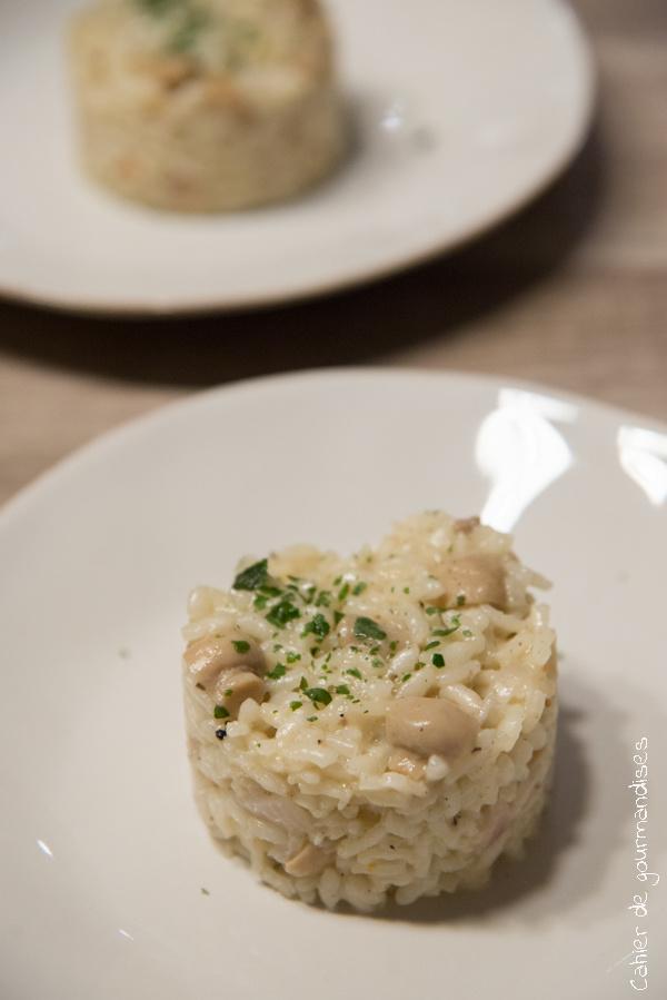 Risotto aux champignons et aux truffes | Cahier de gourmandises