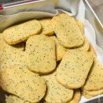 Sablés Massala Pavot Bleu| Cahier de gourmandises