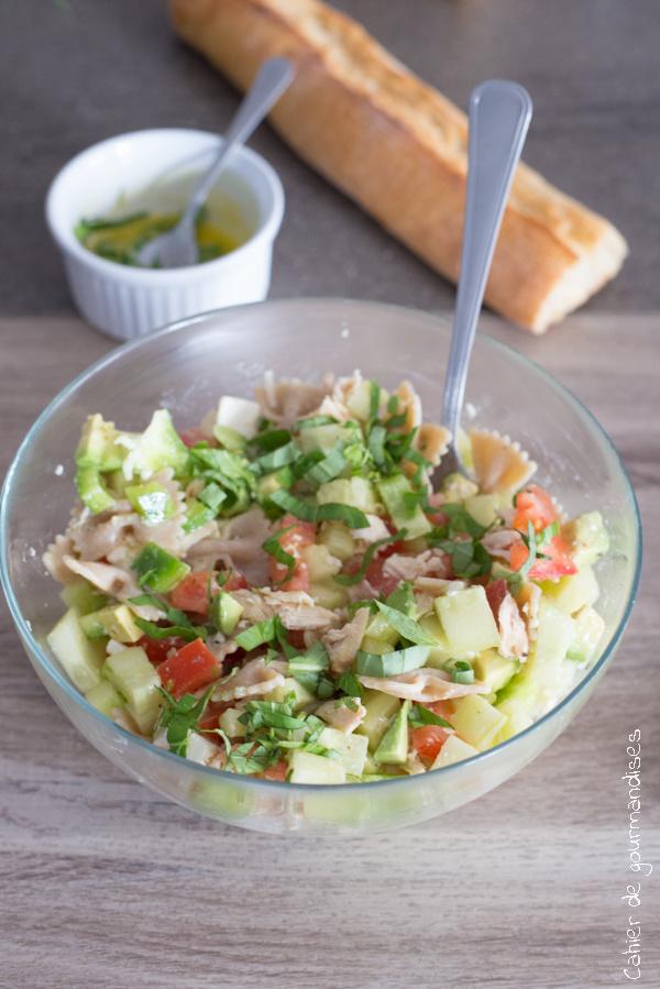 Salade rafraichissante | Cahier de gourmandises