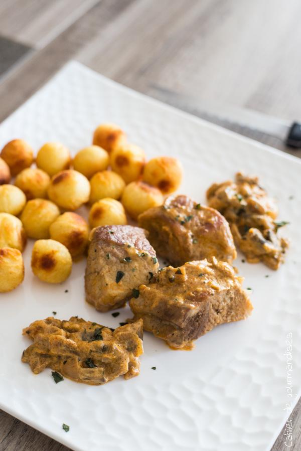 Sauté de porc maison | Cahier de gourmandises