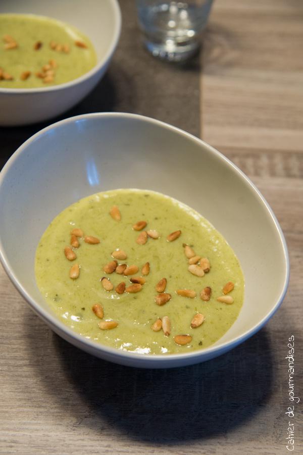 Soupe de vert de poireaux | Cahier de gourmandises