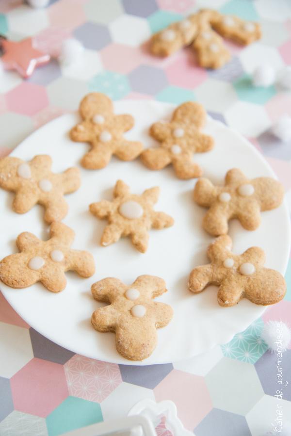 Biscuits Noel Amande | Cahier de gourmandises