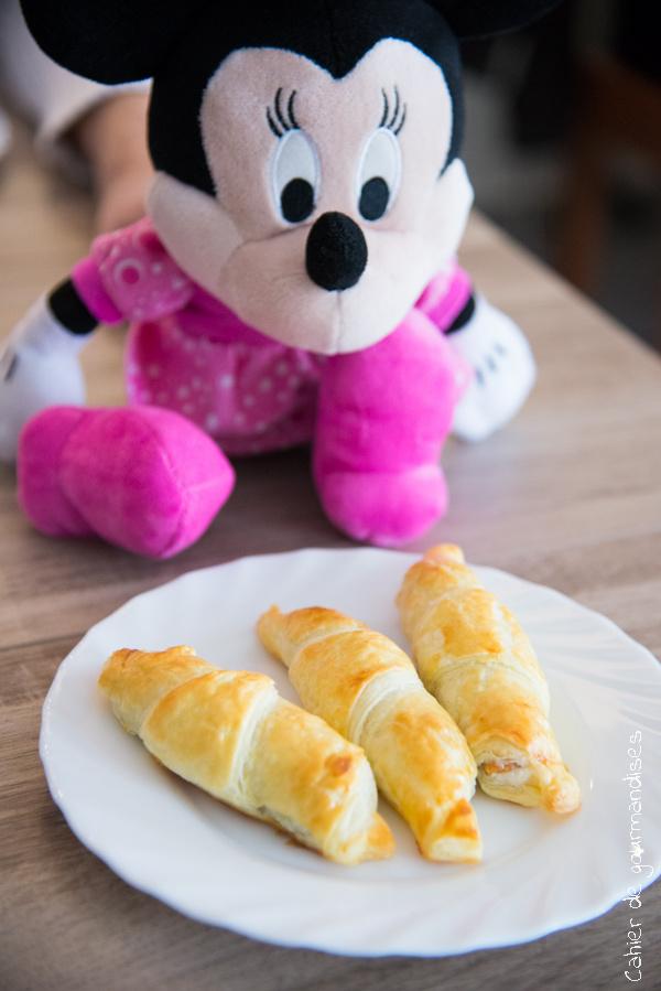 Croissants au Kinder