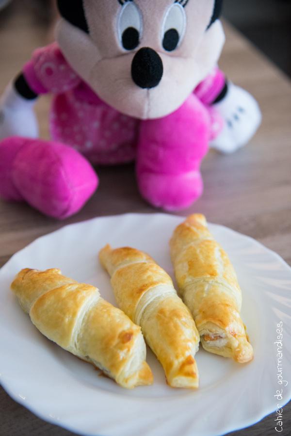 Croissants au Kinders