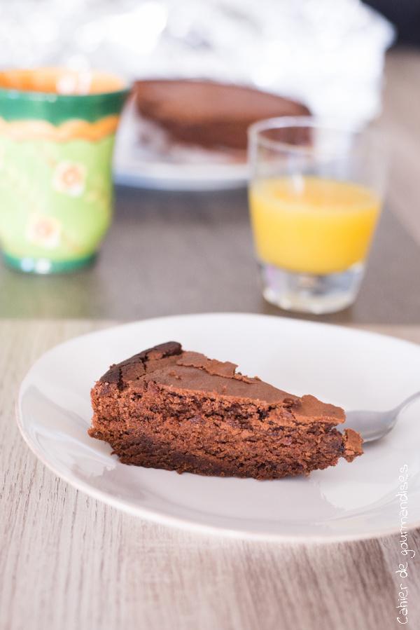 Gateau au chocolat de ByPaulette