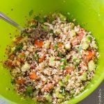 Salade de quinoa façon taboulé | Cahier de gourmandises