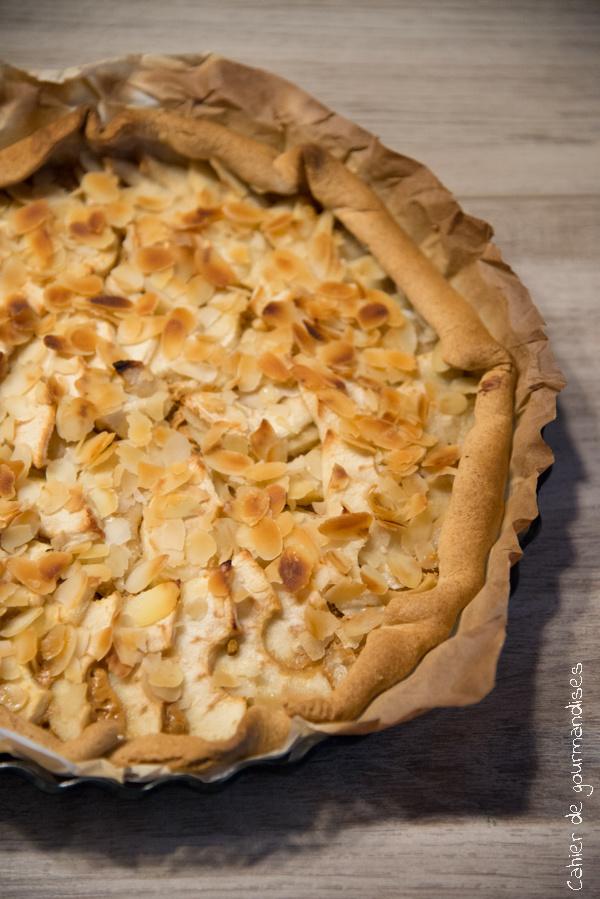 Tarte aux pommes confiture de lait | Cahier de gourmandises