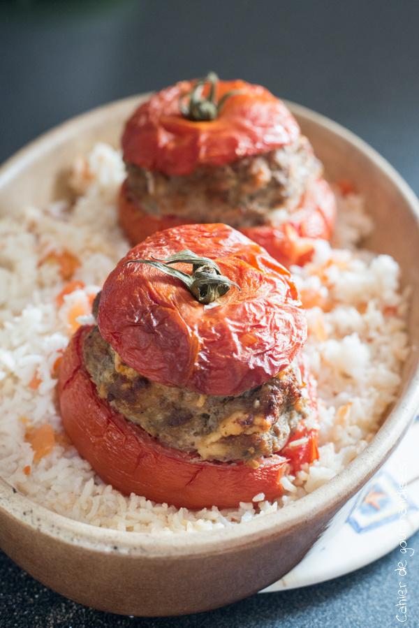 Tomates farcies | Cahier de gourmandises