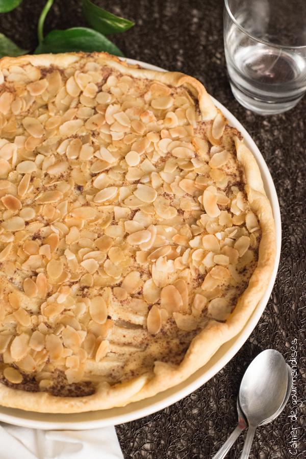 Tarte aux pommes et amandes | Cahier de gourmandises