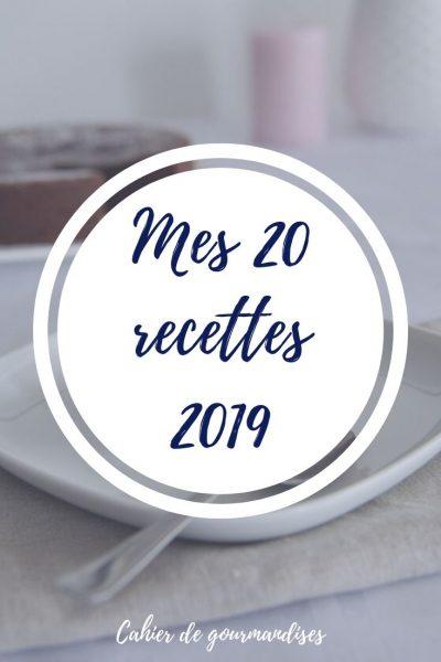 Le TOP 10 des recettes 2019 sur le blog (x2!)