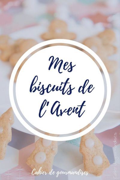 Des idées pour vos biscuits de l'Avent