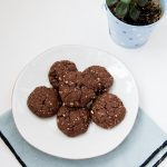 Biscuits healthy  tout choco aux flocons d'avoine