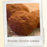 Biscuits moelleux chocolat – banane