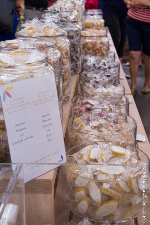 Boutique Calisson | Cahier de gourmandises