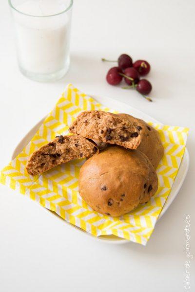 Briochettes aux pépites de chocolat type Whoop