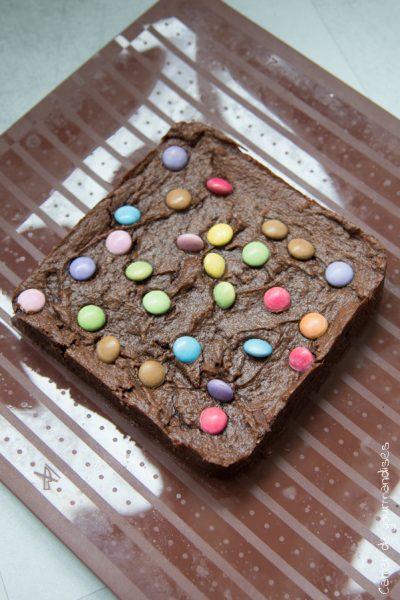 Brownie chocolat cacahuète