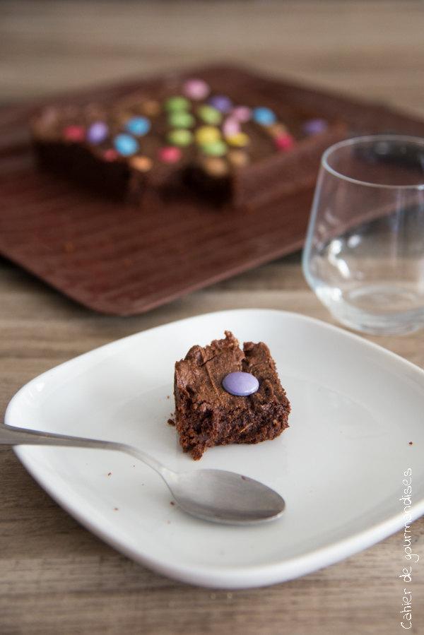 Brownie chocolat cacahuète | Cahier de gourmandises
