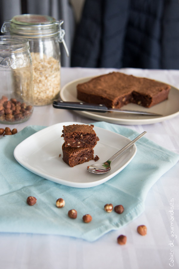 Brownie fort en chocolat | Cahier de gourmandises