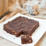 Brownies cacahuete pecan | Cahier de gourmandises