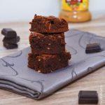 Brownies au beurre de cacahuetes