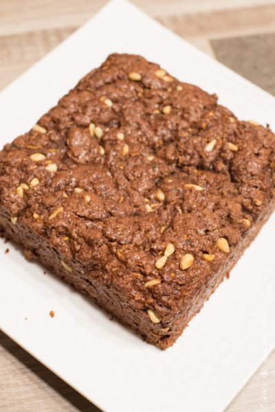 Brownie au chocolat et aux courgettes