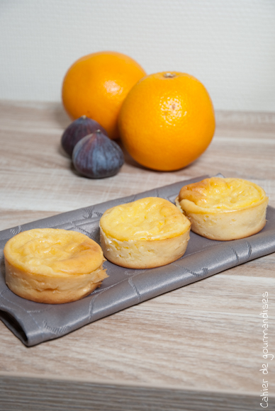 Muffins légers fromage blanc & orange (Ronde #30)