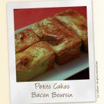 Petits cakes légers au bacon et boursin
