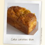 Cake carottes thon raselhanout